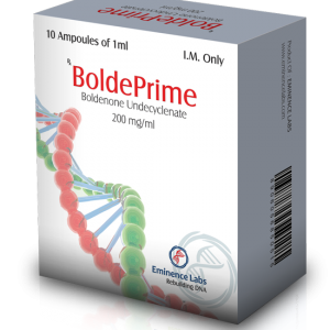 Boldeprime 10 ampoules (200mg/ml)