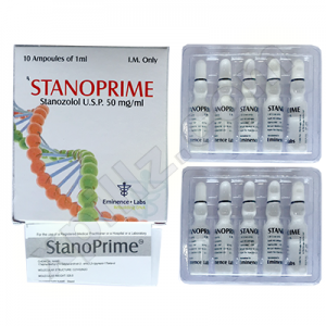 Stanoprime 10 ampoules (50mg/ml)