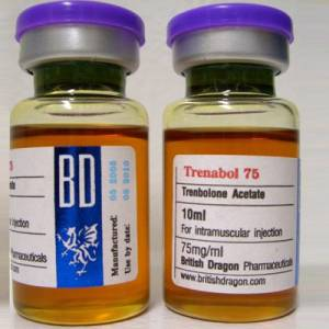 Trenbolone-75 10 ampoules (75mg /ml)