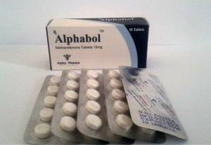 Alphabol 10mg (50 pills)