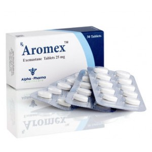 Aromex 25mg (30 pills)