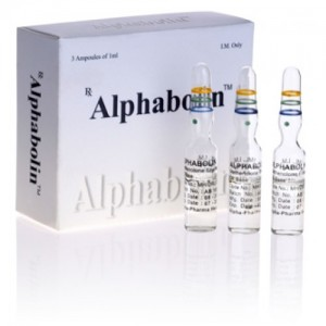 Alphabolin 5 ampoules (100mg/ml)