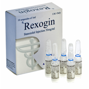 Rexogin 10 ampoules (50mg/ml)