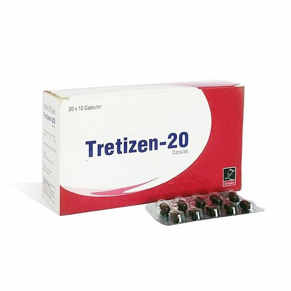 Tretizen 20 20mg (10  capsules)