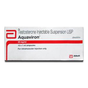 Aquaviron 12 ampoules (25mg/ml)