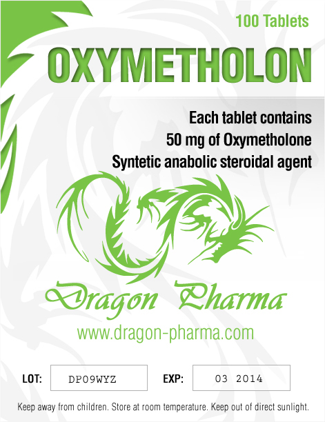 Oxymetholone 50mg (100 pills)
