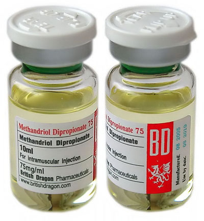 Methandriol Dipropionate 10ml vial (75 mg/ml)