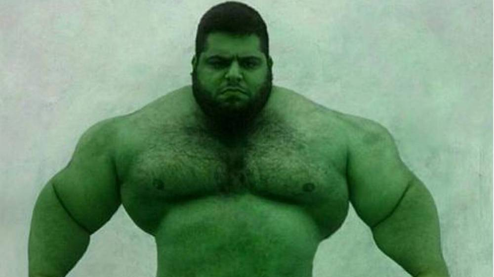Muscular Monster Hulk – Iran's new weapon!